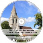 Personalised DVD Gift silver