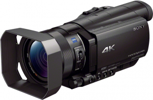 video production in 4k on sony ax100