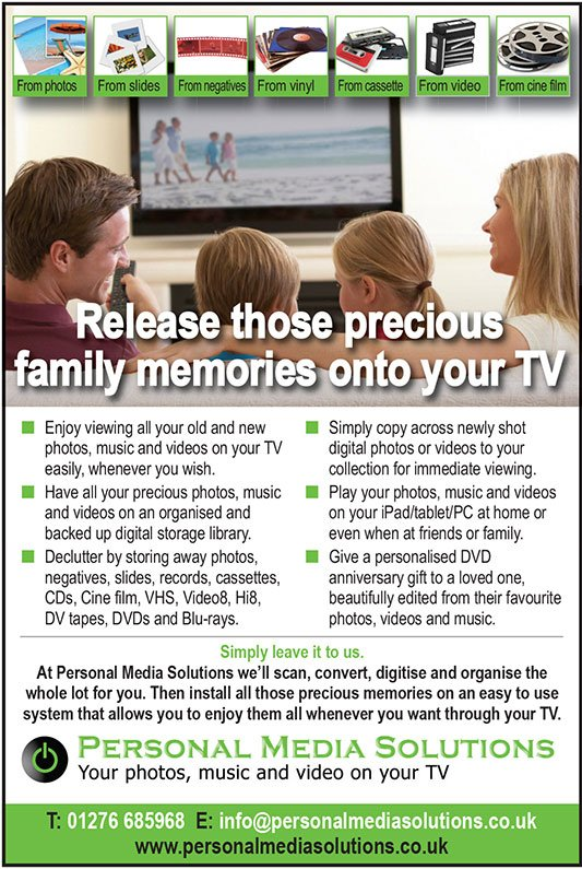 Video services - Release Those Precious Family Memories Onto Your TV